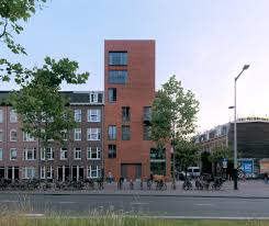 100 Brouwer Amsterdam ARC17 Architectuur Appartementengebouw Wibautstraat