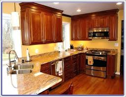 Kitchen Colours With Dark Cabinets Medium Size Of And White Floor Paint Colors Light Oak Color Ideas