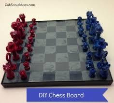 Chess Board Webelos Craftsman