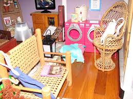 Barbie Living Room Set by Dollhouse Tour Say Hello To My Little Friends
