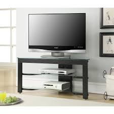 Artificial Christmas Tree Stand Walmart by Convenience Concepts Designs2go Wood And Glass Tv Stand For Tvs Up
