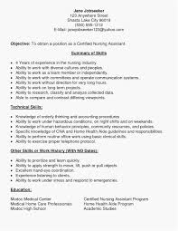 Hospice Nurse Resume Inspirational Cna Examples Best Patient Care Tech Sample