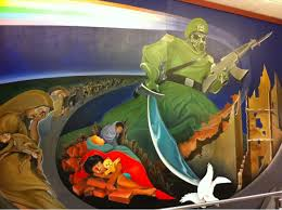 murals in the denver airport