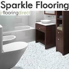 white granite effect sparkly flooring glitter sparkle vinyl lino