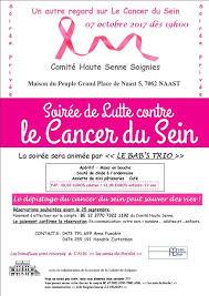 soirée lutte contre le cancer du sein at la maison du peuple à
