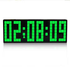 Fashion Electronic Snooze Alarm Clock Large Led Digital Wall With Timer Luminous Calendar Countdown Function Extra Clocks