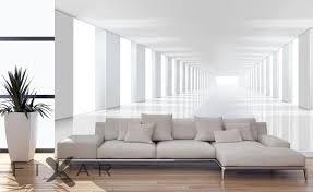 geräumiger korridor vergrößerungs fototapeten