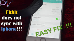 How to fix Fitbit syncing problem