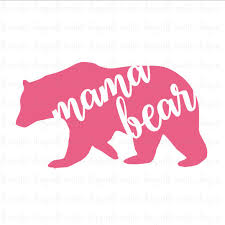 Mama Bear Svg File Mothers Day