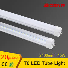 us stock free shipping 8ft t8 led light 2400mm l 85