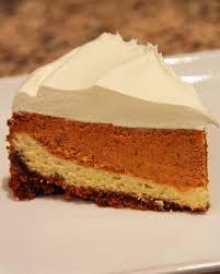 Pumpkin Cheesecake Layer Pie Recipe by Pumpkin Layered Cheesecake Recipe U2014 Dishmaps