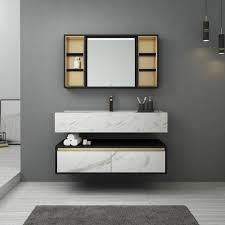 marmors chrank waschtisch bad möbel mit marmor arbeits platte buy schrank eitelkeit bad möbel marmor schrank eitelkeit bad bad eitelkeit set product