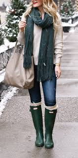 Pave Jewelry And A Cozy Winter Outfit