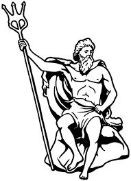 wandtattoo neptun gott meer wasser dreizack römische götter wand tür auto aufkleber schlafzimmer wohnzimmer schlafzimmer autoaufkleber türaufkleber