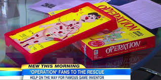 Good Morning America On Twitter Creator Of Operation Board Game Needs Money For Real Surgery Tco BfAQLyLi2O ZDTSSYh7IA