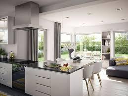 musterhaus fertighaus offene küche wohnzimmer wohnung
