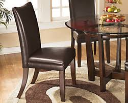 Charrell Dining Room Chair Medium Brown Large