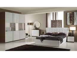 chambre a coucher blanc design chambre coucher blanche design moderne galerie avec chambre design