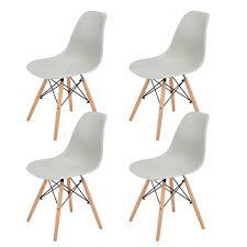 hj wedoo 4er set esszimmerstühle mit real de