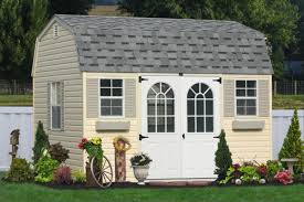 Tool Shed Middletown Pa by Outdoor Vinyl Sided Storage Sheds Maintenance Free