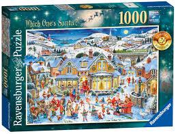 Longest Lasting Christmas Tree Uk by Ravensburger Which One U0027s Santa 1000pc 2017 Limited Edition Jigsaw