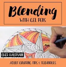 Blending With Gel Pens