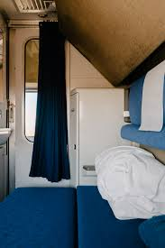 ohio to california in an amtrak sleeper car thought sight