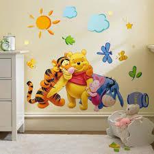 Animal Cartoon Wall Decals Baby Nursery Kids Bedroom Stickers Art Decor Room