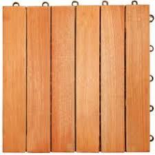 garden winds dt01 db six slat deck tiles mahogany 10 count