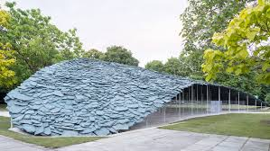 100 A Architecture Junya Ishigami Completes Serpentine Pavilion 2019 Using Slate