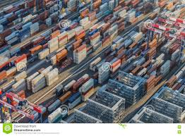 100 Shipping Containers California Port Side Container Stacks Editorial Image Image Of Dock 76065350