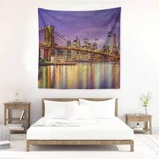99 New York Style Bedroom Amazoncom Willsd Wall Tapestry For