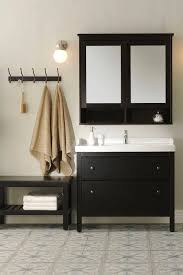 the ikea hemnes bathroom series is a traditional approach to