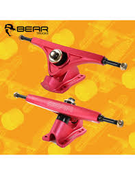 Bear Kodiak Red 45° 160mm Longboard Freeride Trucks - Sk8bites ...
