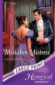 Mistaken Mistress By Margaret McPhee