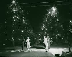 Christmas Tree Lane Altadena Location by Back Of The Cereal Box December 2013