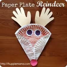 Paper Plate Reindeer Step 4