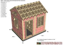 10x10 Shed Plans Pdf by Cb202 Combo Plans Chicken Coop Plans Construction Garden Sheds