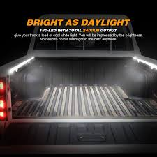 Amazon.com: AUDEW 2Pcs 60'' Truck Bed Light Strips Unloading Cargo ... How Does Everyone Hook Up Their Bed Lighting Amazoncom Aura Led 8pc Truck Bed Lighting Kit Multicolor 24led Light Strips Accsories Ford F150 Bozbuz Lilianduval Aftermarket Leader Streetglow Inc Proudly Presents Bedroom Design Lights 7 Elegant 2018 Igenyesbutor Opt7 Bright Work K61 Xtl Technology Extreme Ledglow Truck Bed White Lighting Light Kit For Chevy Dodge Dinjee Glo Rails A Unique Light Bar Or Truck Rail That Can