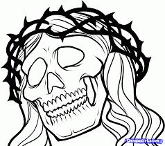 How To Draw A Jesus Tattoo