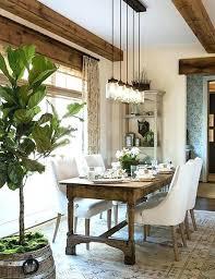 Dining Table Lighting Room Modern Fresh Farmhouse Mid Century