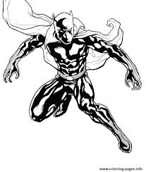 Panther Coloring Pages Black Marvel Super Heroes Baby