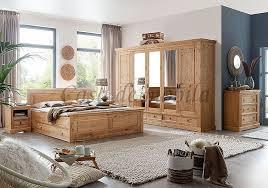 massivholz schlafzimmer 6teilig komplett kiefer massiv