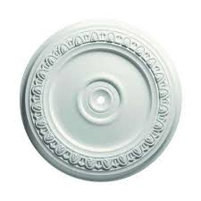 Two Piece Ceiling Medallions Cheap by Medallions Ceiling Lighting Accessories The Home Depot