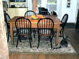 Round Rug For Under Kitchen Table Dining Square