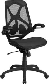 High Back Transparent Black Mesh Executive Ergonomic Office Chair With  Adjustable Lumbar, 2-Paddle Control & Flip-Up Arms Mooreco Ergo Ex Ergonomic Office Chair Black Seat 5star Base 21 Width X 1850 Depth 28 24 51 Height Details About High Back Executive Computer Desk Swivel Armrest Leather With Plush Headrest Extensive Padding And Arms Allsteel Relate Ergonomic Chairs Fniture I Ergoprise Houston Texas 8779078688 Seating Tx Spigner Push Task Standing Desks Austin Ergonomic Home Tbc Control Room Desk Ehst3ebl Sit Stand Recling Adjustable Chiars Steelcase Leap V2