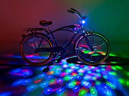 Cruzin Brightz RGB Color Changing Bike Light