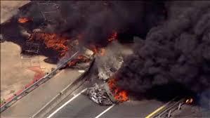 100 Tanker Truck Explosion Truck On Fire On New Jersey Turnpike In Woodbridge 6abccom