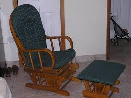 Rustic Gliding Rocking Chair