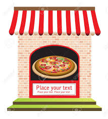 Pizza Shop Clipart